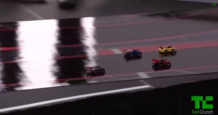real-life video game Anki Drive 5