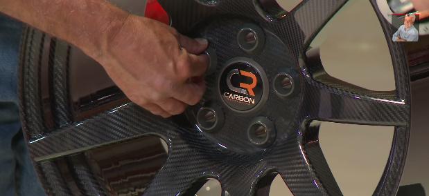 Carbon Revolution's lightweight carbon fiber wheel