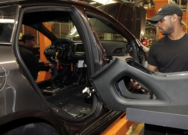 Prisoners Will Start Building Automobiles Chrylser Group Assembly Plant in Warren MI Door
