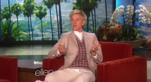 Ellen spoofs McConaughey Lincoln
