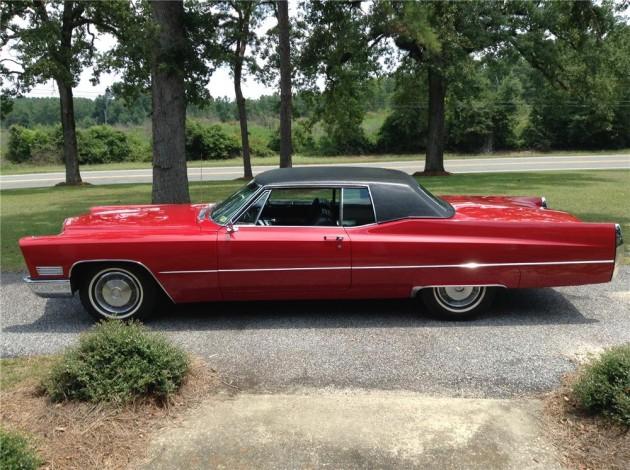 Elvis Presley's 1967 Cadillac Coupe De Ville