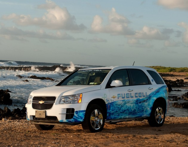 The Chevy Equinox Fuel Cell Vehicle | Hydralogic