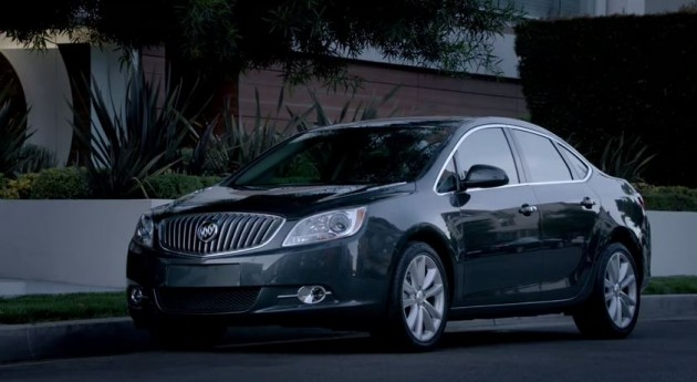 "A shot from one of the ads in the new ""Experience the New Buick"" campaign"