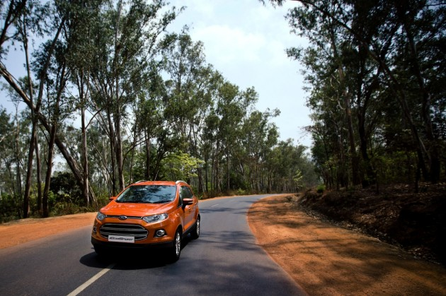 Ford India August sales