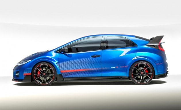 The 2015 Honda Civic Type R concept