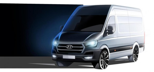 Hyundai H350 Images: Attempt to Make Cargo Van Cool Fails | The News ...
