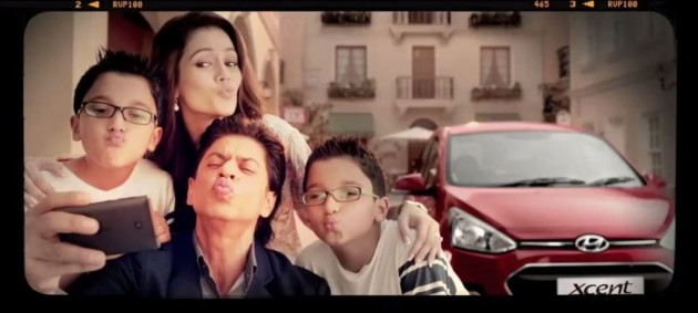 Hyundai Xcent Spokesperson SRK India 3