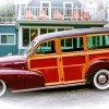 Eric Clapton's 1947 Chevy Woody
