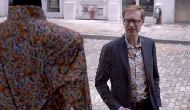 The new 2015 Cadillac ATS Coupe ad stars Stephen Merchant.