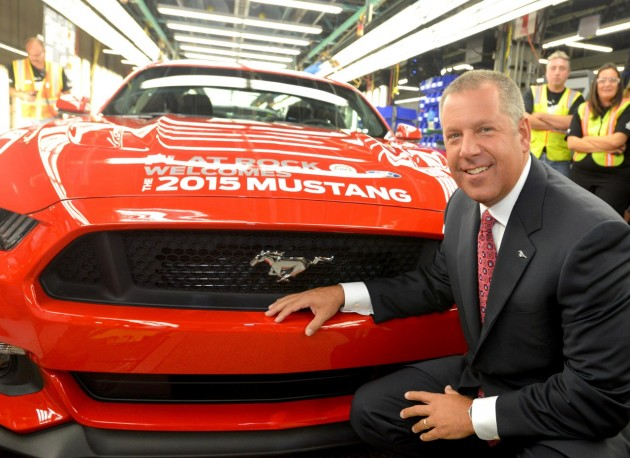 2015 Mustang Production Begins at Flat Rock Assembly Plant