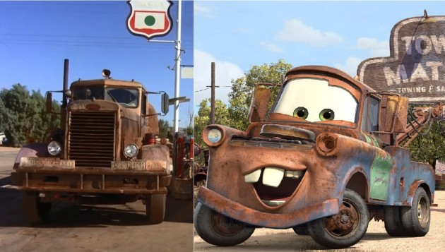 The killer Duel truck versus Tow Mater