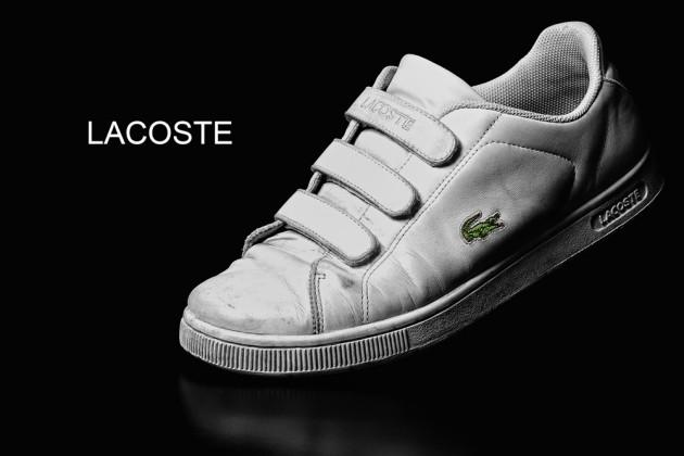Lacoste White Shoe Labron's BMW Jhong Dizon