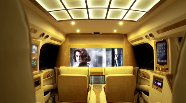 Inside the Lexani 2015 Concept One Cadillac Escalade
