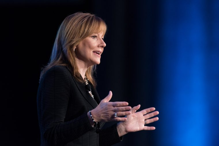 Mary Barra GM CEO Compensation