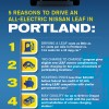 Top five reasons to drive ell-electric Nissan LEAF in Portland