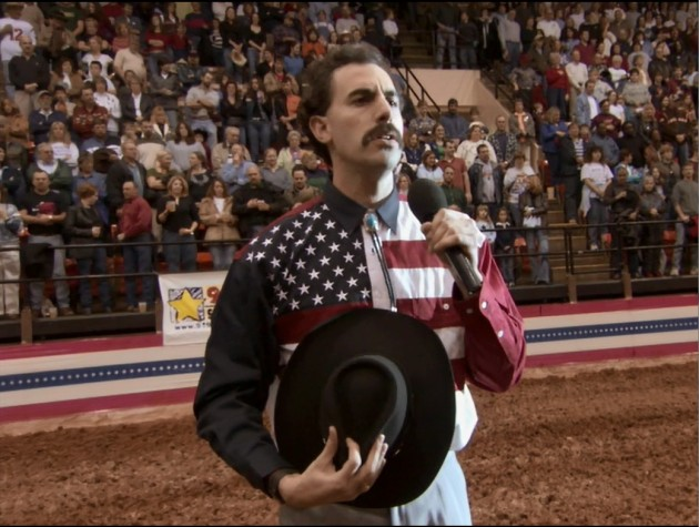 Borat at rodeo