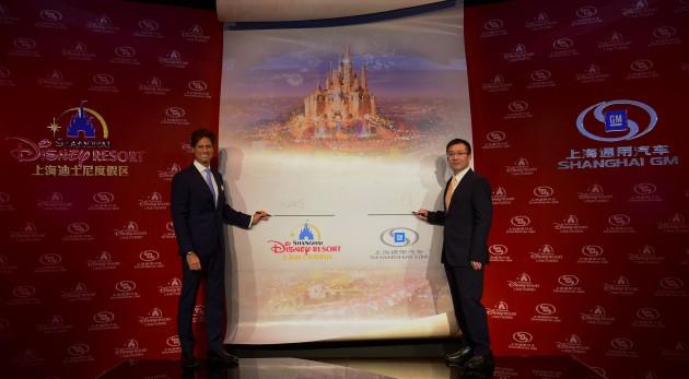 Shanghai Disney Resort and Shanghai GM Ink Long-Term Deal