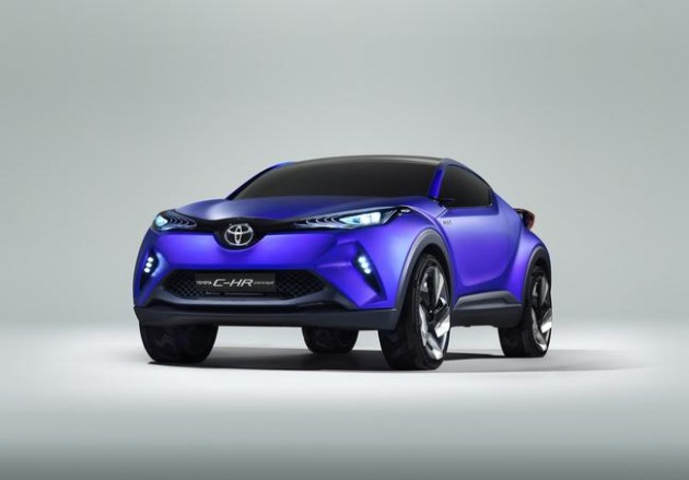 Toyota C-HR production