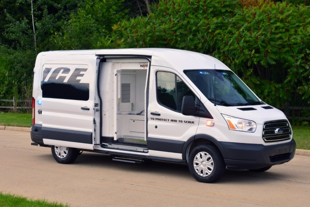 Transit Prisoner Transport Vehicle Concept