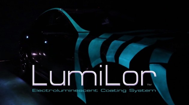 electrified paint LumiLor luminescent car glow 2