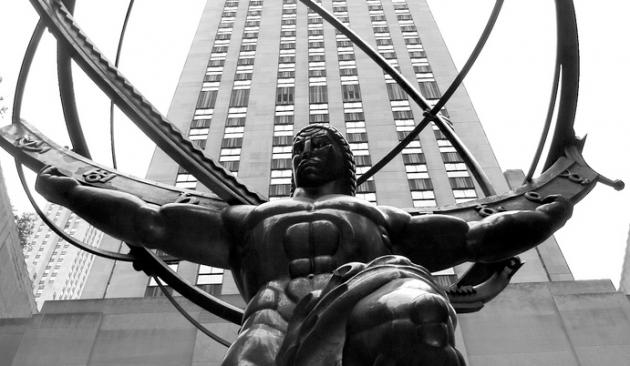 Rockefeller Center Atlas statue