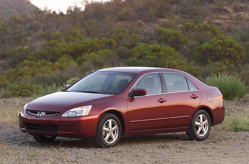 This 2005 Accord is one of the vehicles that will be impacted by the nationwide Honda airbag recall