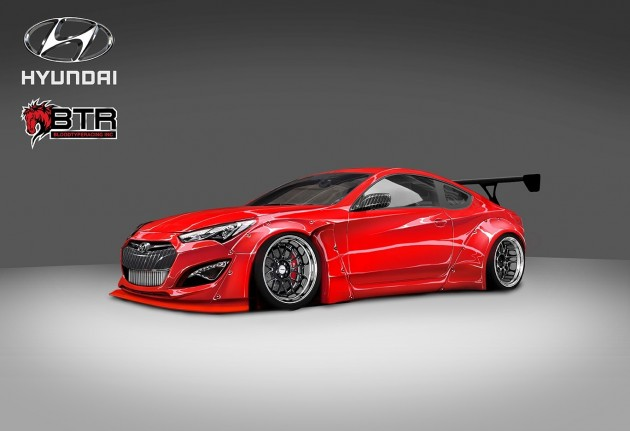 Hyundai Concepts Appear at SEMA Toca Signature