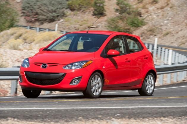 2014 Mazda2 Touring 6MT True Red (4) 2016 Mazda2 Production