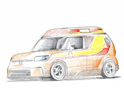 Scion Im Concept Teased For La Sketches Revealed For Sema The