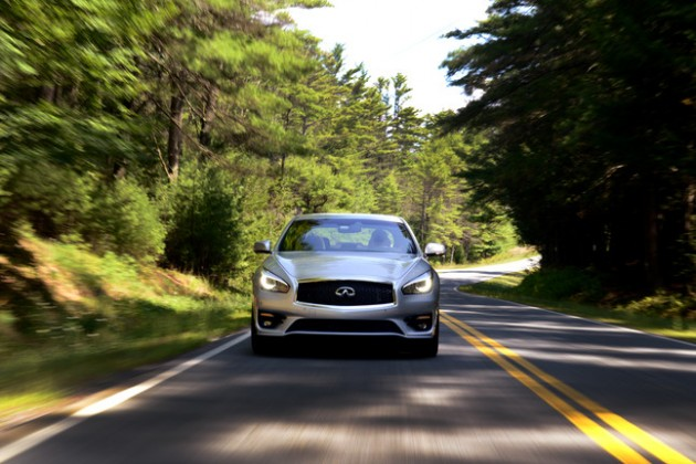 2015 Infiniti Q70 Named TOP SAFETY PICK+