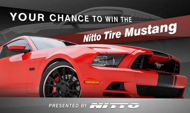 Nitto Tire Mustang Sweepstakes