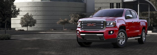 2015 GMC Canyon Color options | Cardinal Red