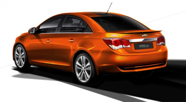 Chevy's 2014 SEMA Lineup: Cruze RS Plus Concept