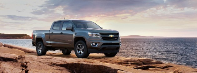 2015 Chevy Colorado colors | cyber gray metallic