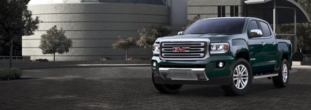 2015 GMC Canyon Color options | Emerald Green Metallic