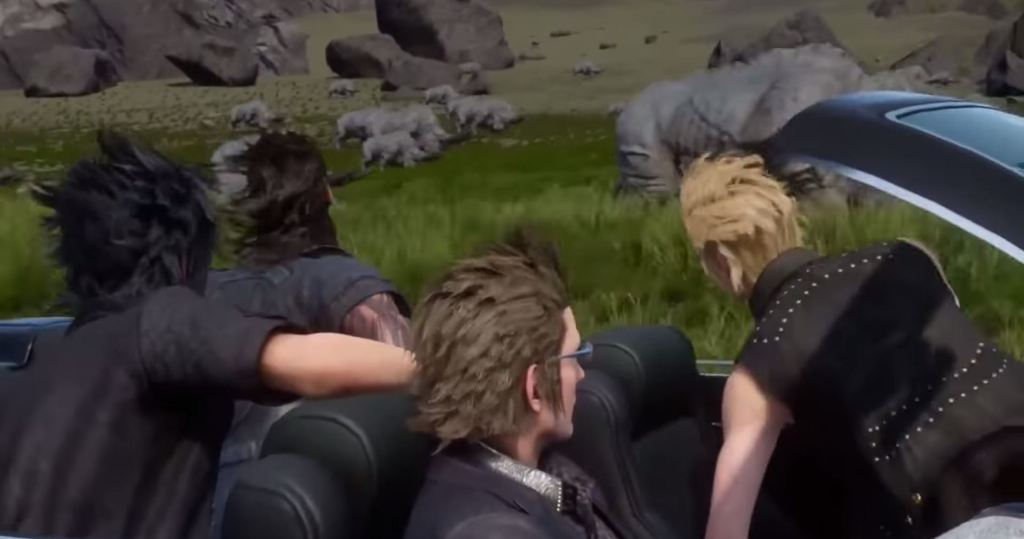 Why You Re Seeing Hilarious Final Fantasy Xv Car Memes