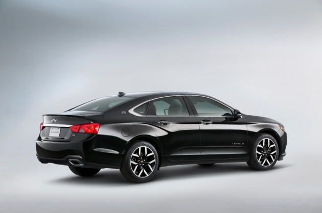 2015 Chevy Impala Midnight Edition based on Impala Blackout Concept