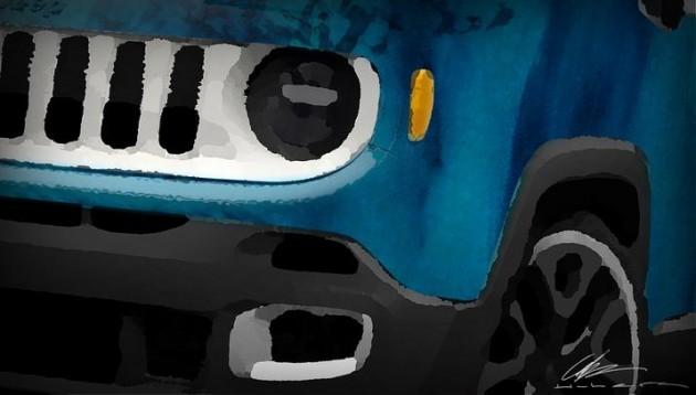 Mopar at SEMA 2014 | Jeep Renegade Limited Rip Tied