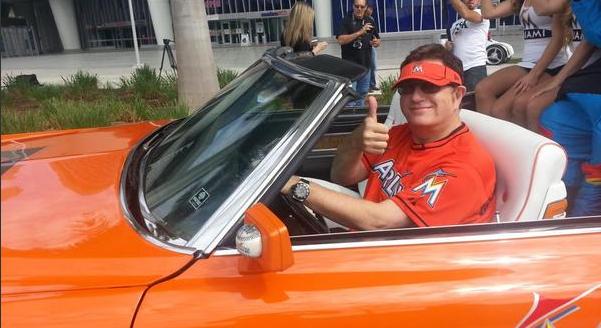 Marlins Man's Marlins Car