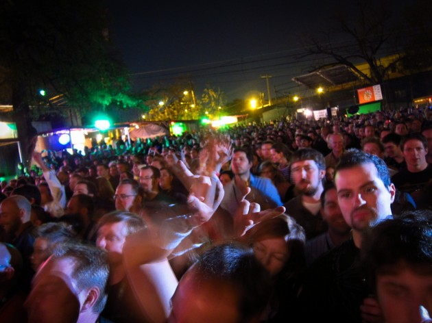 Mazda Sponsoring SXSW Festival music film Texas crowd audience night