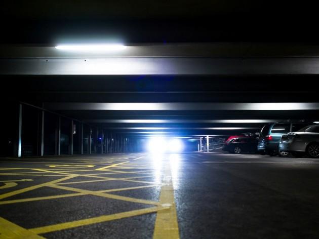 Mazda's adaptive headlights parking garage bright lights Gavin Clarke CC