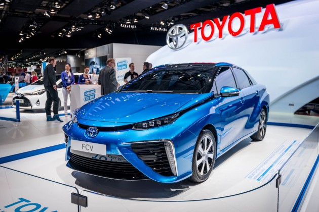 Toyota at the Paris Motor Show