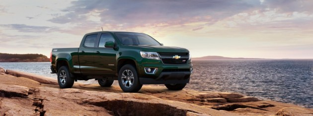 2015 Chevy Colorado colors | rainforest green metallic