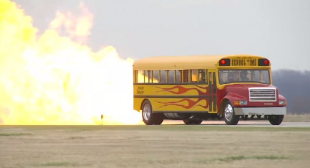 jet-powered school bus - history of the school bus