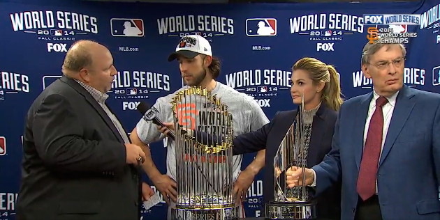 World Series MVP Madison Bumgarner Wins 2015 Chevrolet Colorado