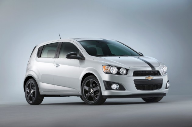 Chevy's 2014 SEMA Lineup: Sonic Accessories Concept