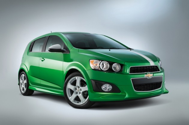 Chevy's 2014 SEMA Lineup: Sonic Performance Concept
