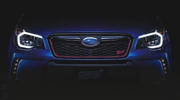 Subaru Forester STI Teaser Image