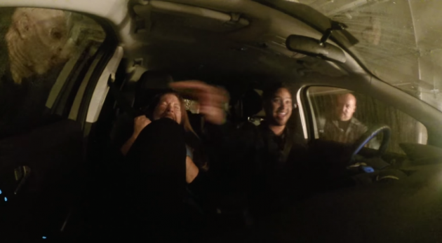video fords spooky halloween car wash prank  news wheel
