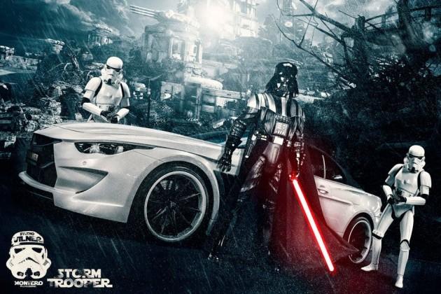 Vilner BMW Stormtrooper white convertible Bullshark (6)